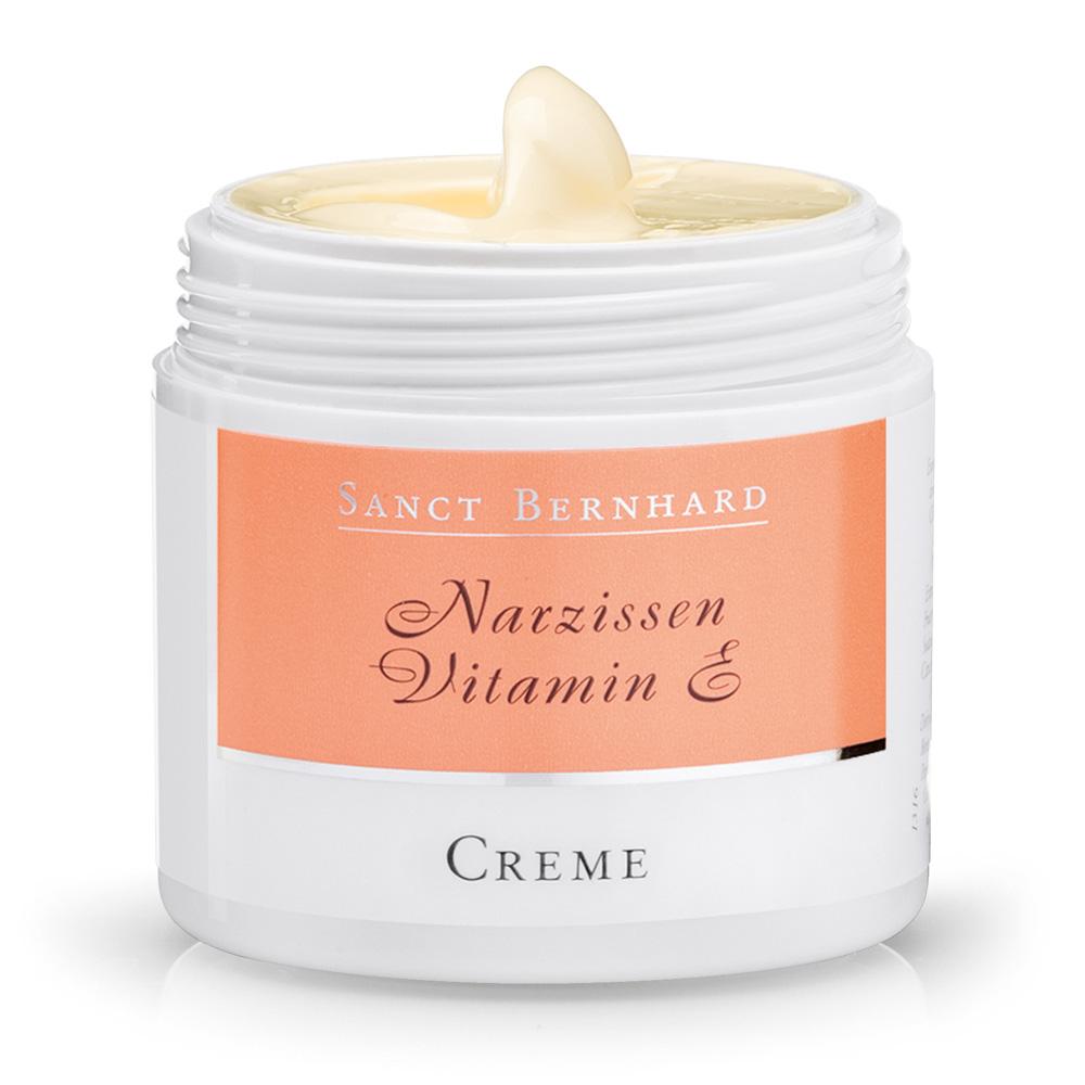 Crème au narcisse et à la vitamine E | Kräuterhaus Sanct